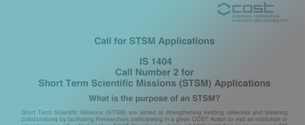 STSM call
